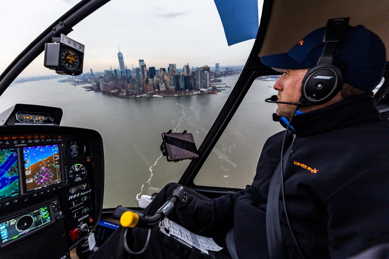 Ballade aérienne à New York