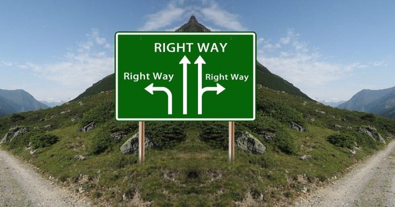 איך לקבל החלטה ולהיות שלמים איתה על פי זן