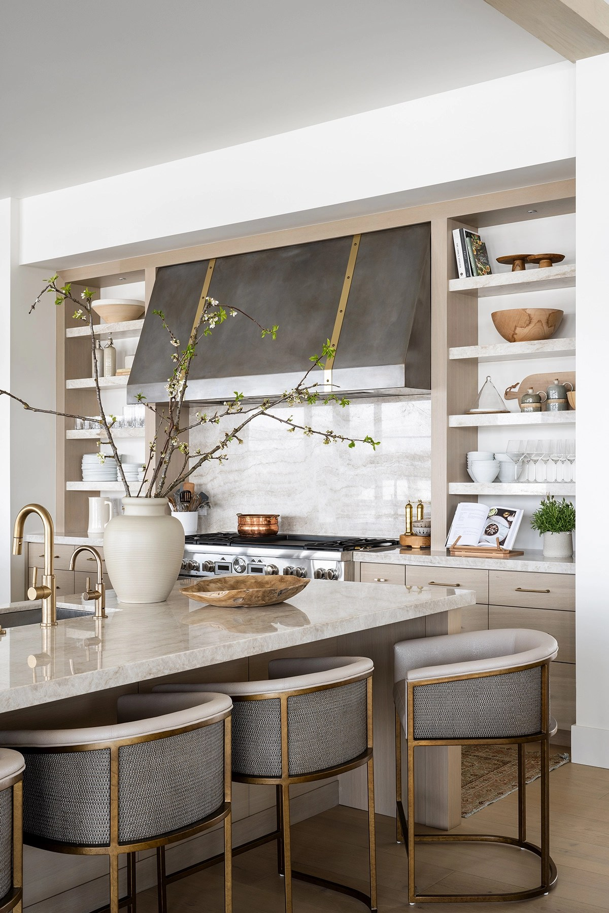 PC Contemporary Project: The Dining Space, Kitchen, & Dining Nook