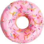 donut met een witmarge die is ingevuld door middel van autocrop