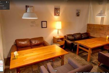 カフェの内装を変えたらストリートビューでお知らせしましょう。
