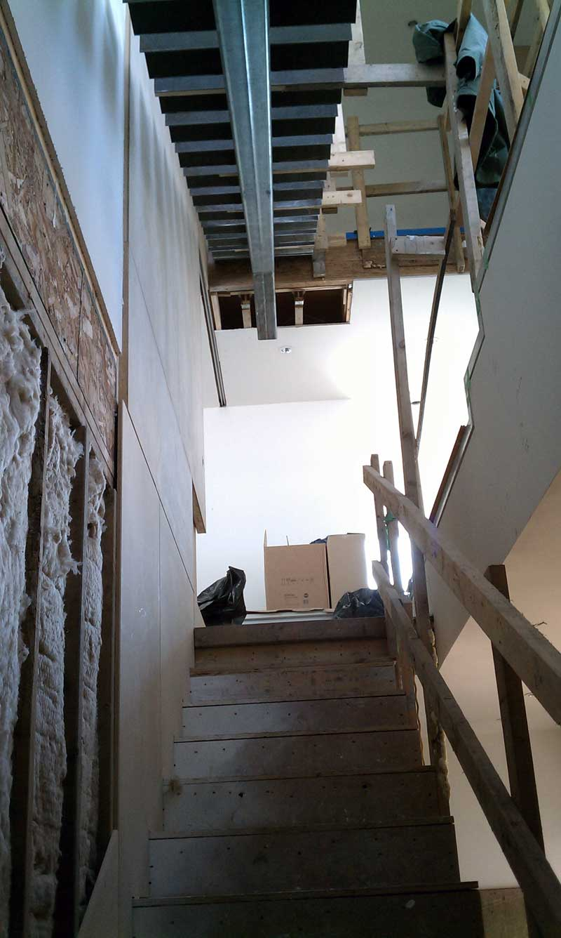 Building Interior Stairs