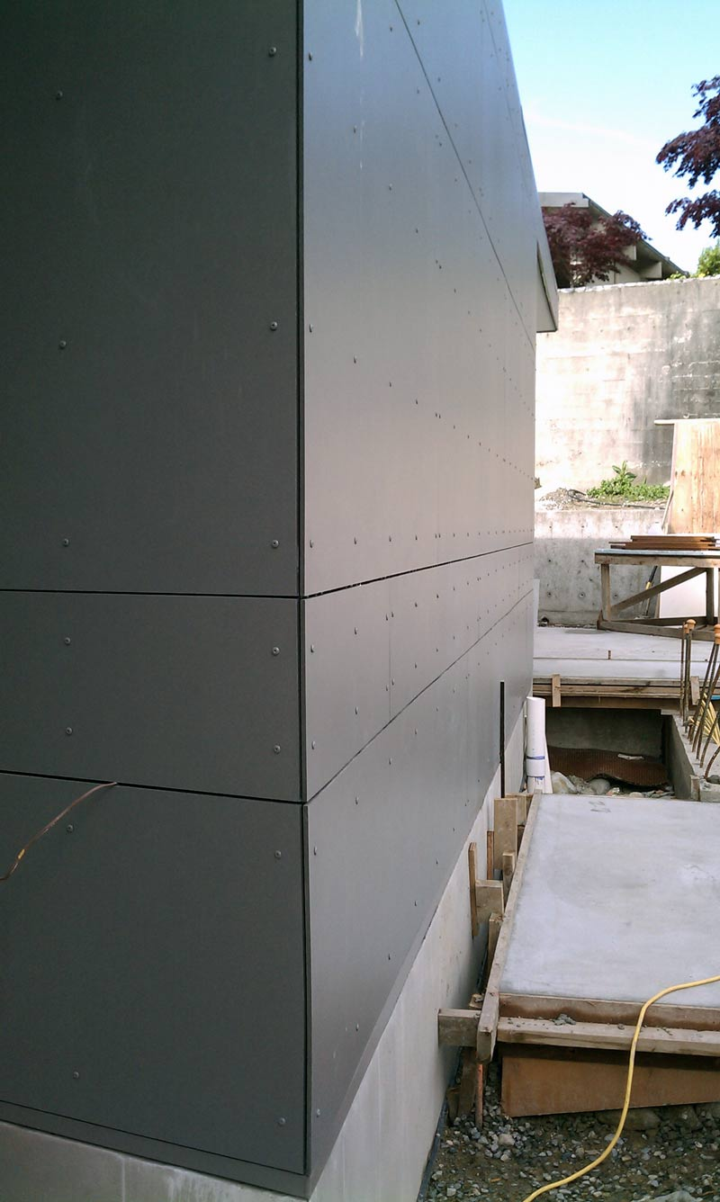 Detail Esquimalt Swiss Pearl Panel Home Building In