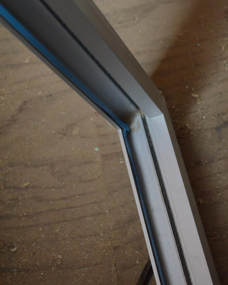 Detail Alum Nail On Flange Home Building In Vancouver