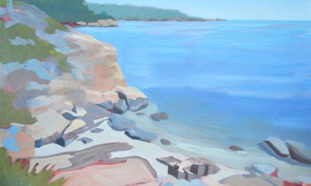 Painting Rocky Shore Seascape-Follow Along