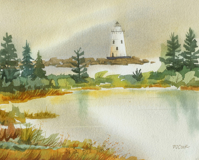 Painting Watercolor Washes – Creating Mood in a Painting