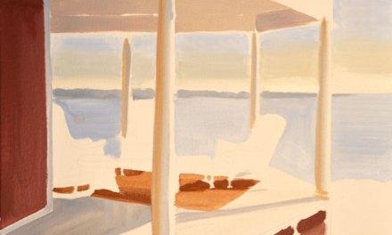 Limited Palette Technique-Ocean View Oil Painting