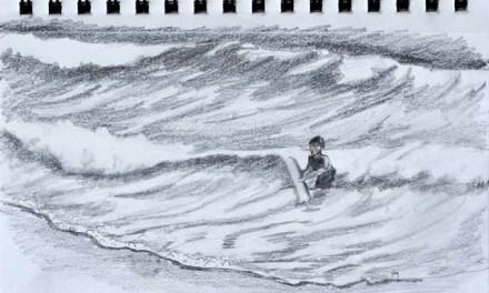 Sketching Ocean Waves