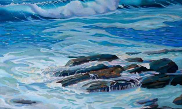 Painting Ocean Waves in Oil
