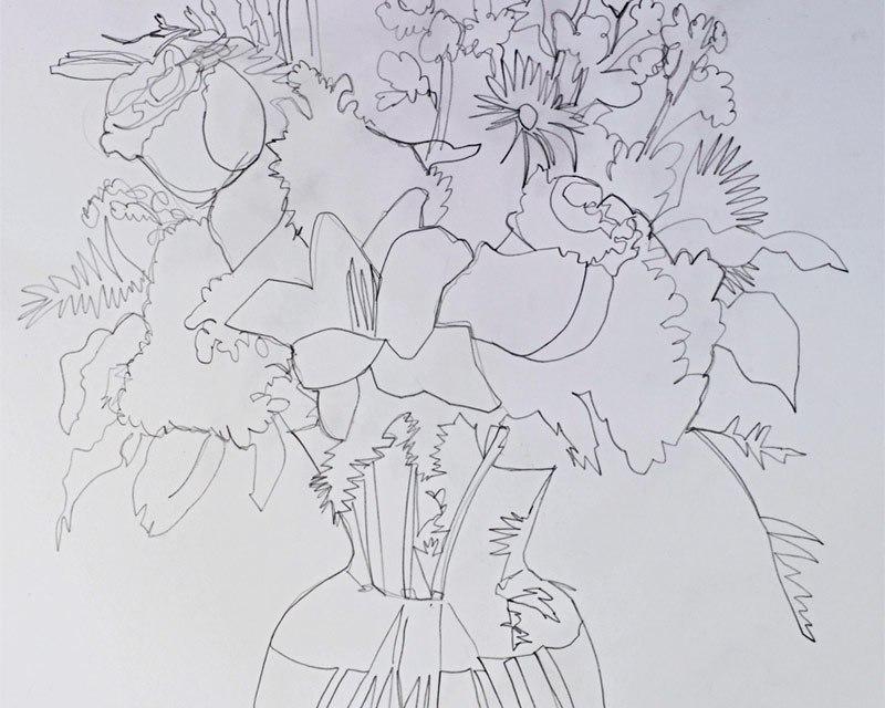 Floral Work In Progress