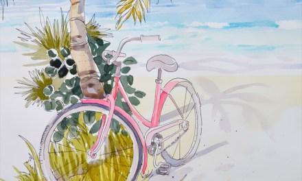 Pink Beach Cruiser