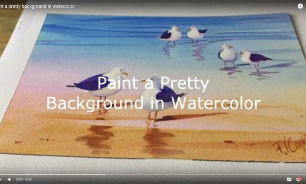 Paint Pretty Watercolor Background