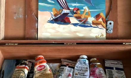 Ft Lauderdale Beach On Location Painting