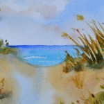Watercolor Tutorial: Quick Tip to Paint Grass