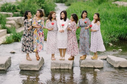 Busan South Korea Wedding Bridesmaids Portrait Photographer-14