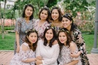 Busan South Korea Wedding Bridesmaids Portrait Photographer-2