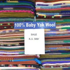 Baby Yak Wool Wraps Nepal
