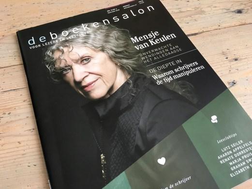 magazine de boekensalon ontwerp en vormgeving