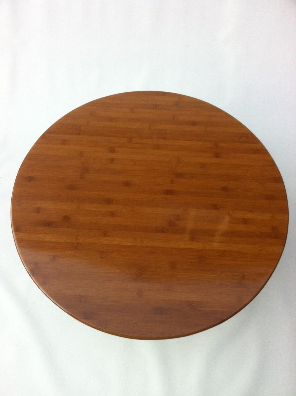f5dfddfeaa58 34″ Mid Century Modern Round Coffee Table
