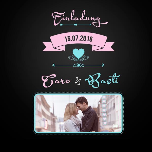 Einladungen Hochzeit Einladungskarten