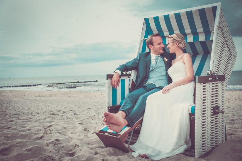 Hochzeitsfotograf Strand Kühlungsborn Ostsee