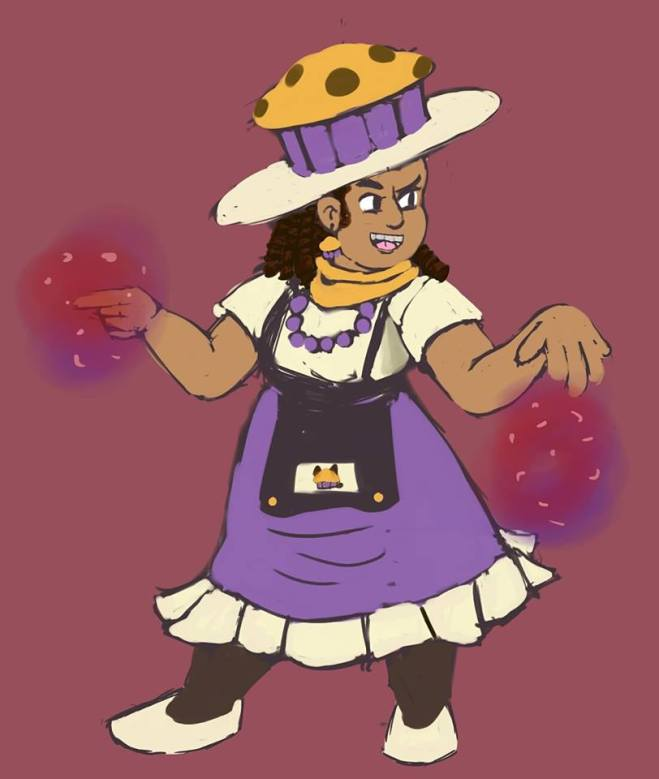 Muffin Witchsona by Bmkad07 (Ana Jimenez)