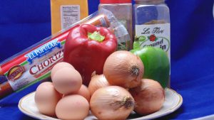 Scrambled Eggs Mexican Ingredients