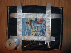 Snow Castle Cross Stitch Kit