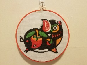 Pig Cross Stitch Kit
