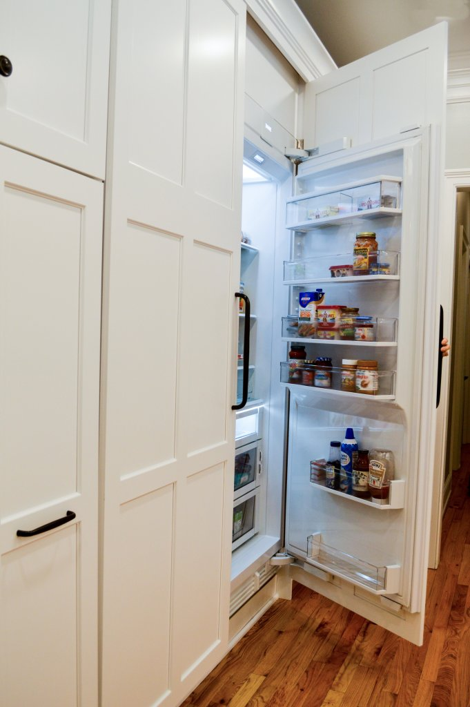 Integrated panel refrigeration with quality cabinets