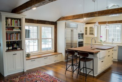 100 year old kitchen remodeled