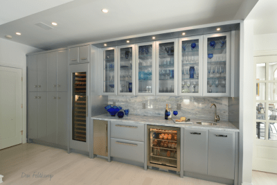 NEFF Living cabinetry on Wet bar