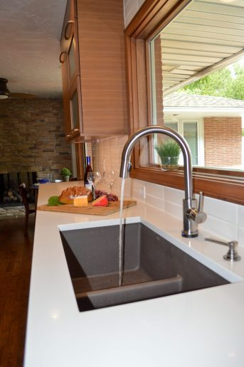 custom kitchen Blanco Silgranit sink