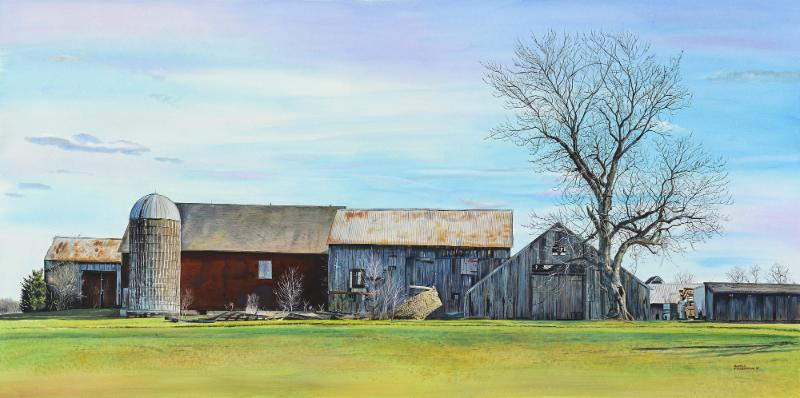 Country Road 17x30