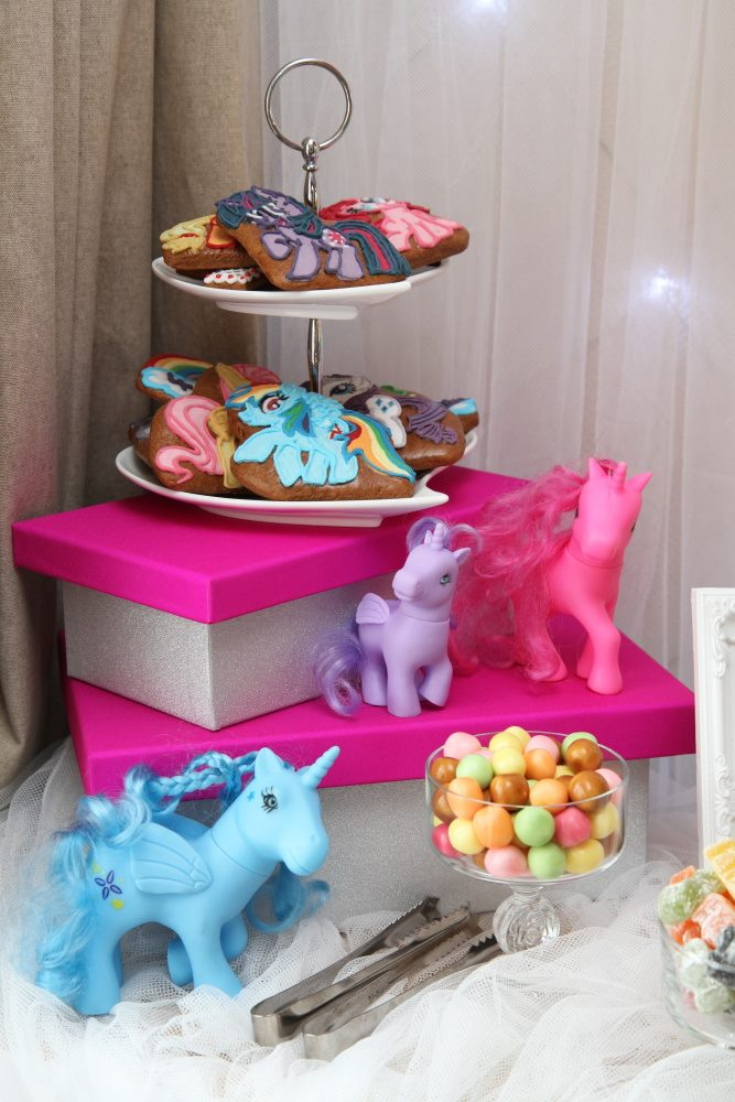 Beautiful my little pony biscuits