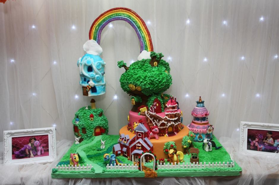 The most amazing my little pony cake ever!