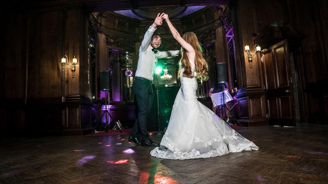 Frist dance in Music Room Thornton Manor