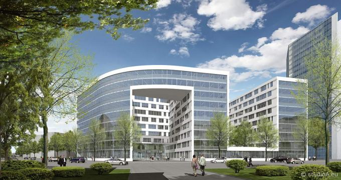 3D architectural visualization / design: Meixner Schlüter Wendt architects / client: Lang & Cie Frankfurt