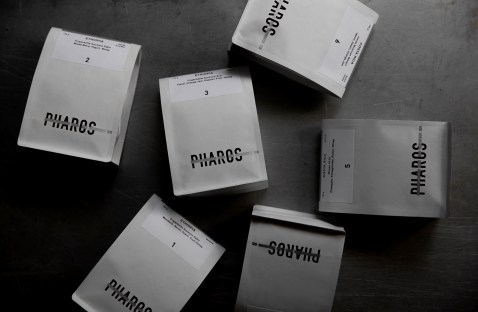 Pharos Coffee Packaging by HOUTH