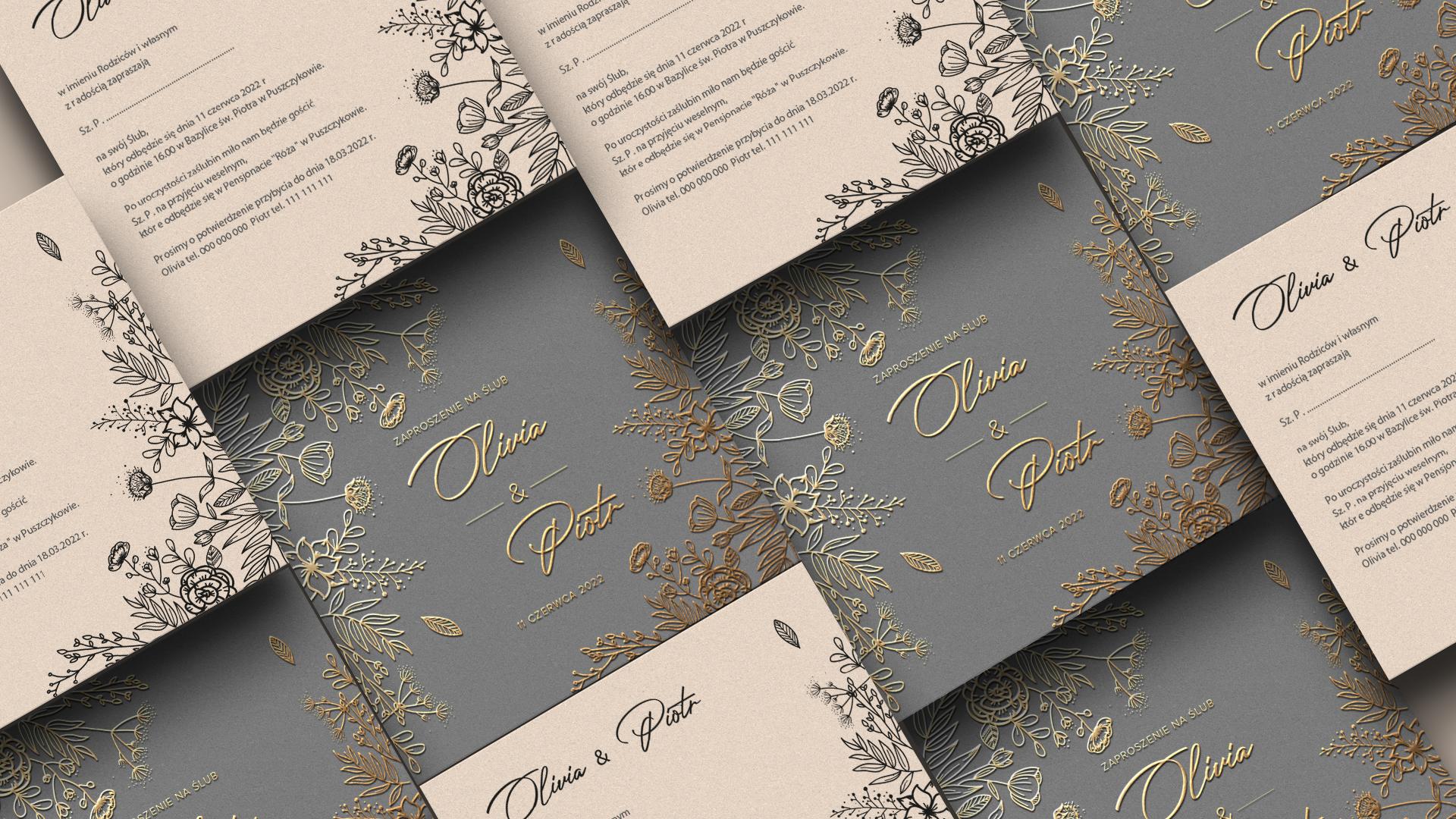 zaproszenie na wesele