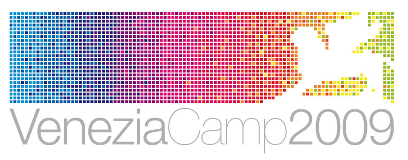 venezia-camp-2009 logo studio vittorio baroni