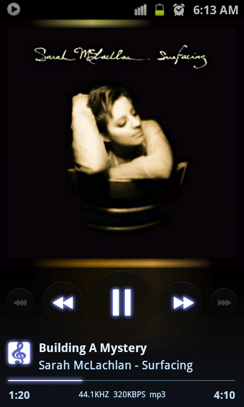 Review of PowerAMP music player for Android phones (2/2)