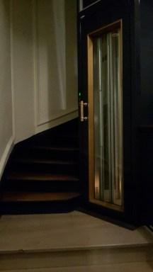 Entrée avec ascenseur