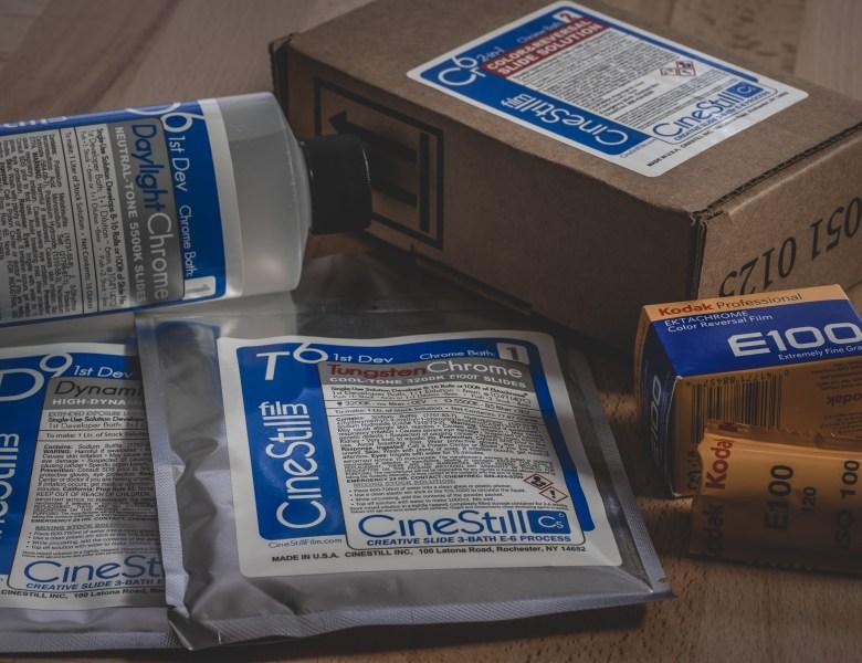 CineStill Film Cs6 Creative Slide E-6 Development Kit Review