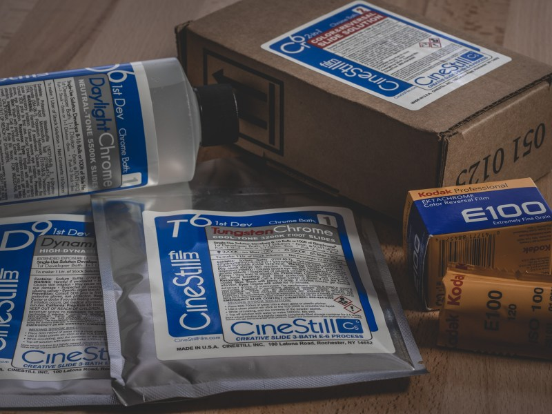 CineStill Film Cs6 Creative Slide E-6 Development Kit Review