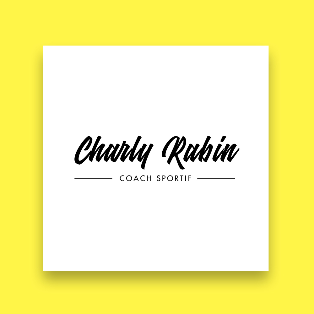 Recherche logo Charly - coach sportif