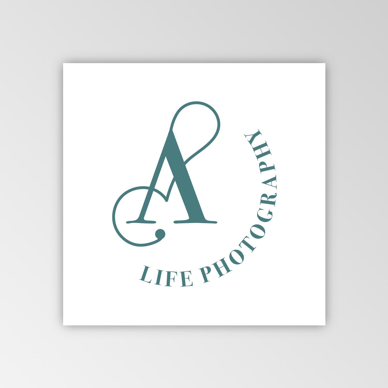 Logo Angèle Photographie proposition graphique 2