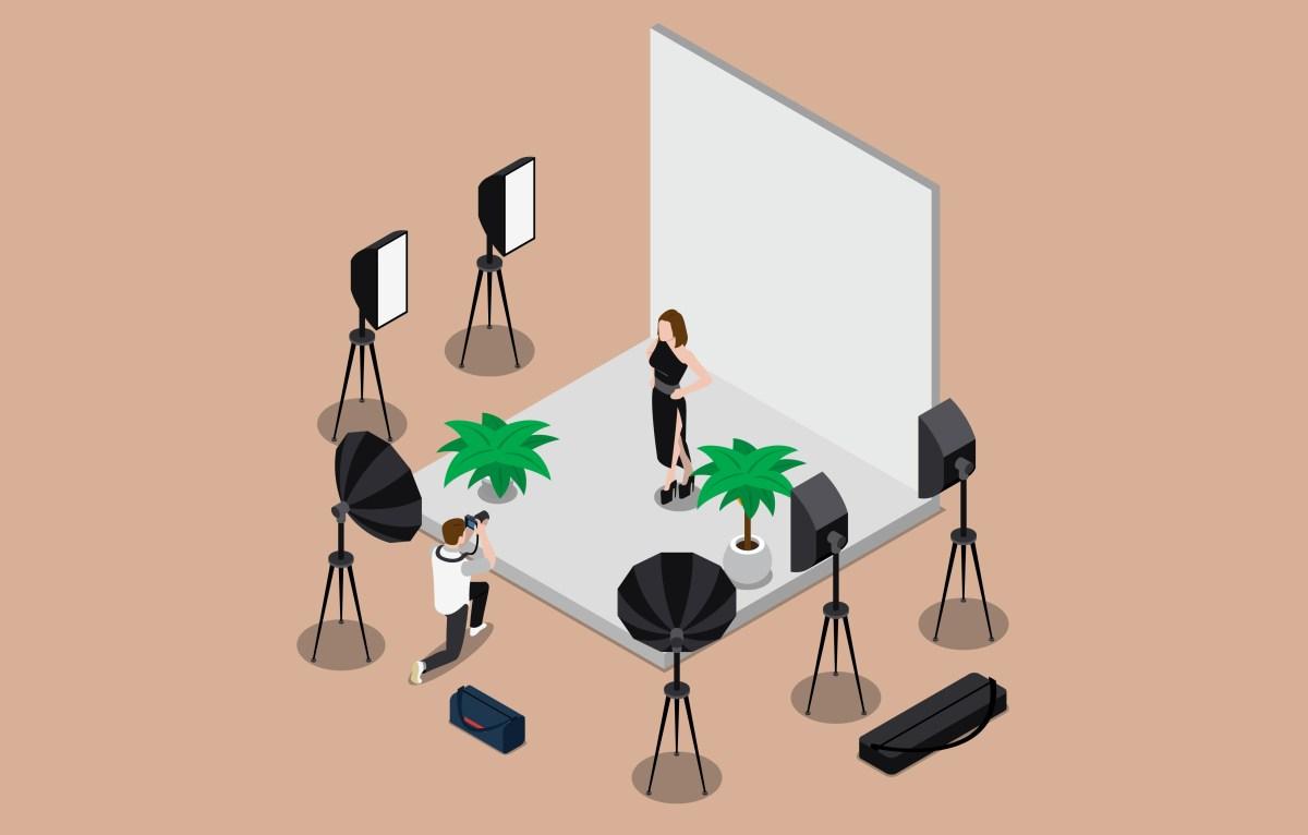 Studio photo mobile