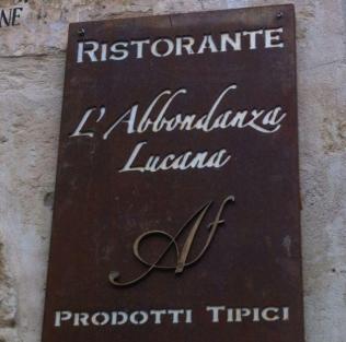 L'abbondanza Lucana