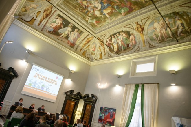 Conferenza stampa fundraising coaching plus Fondazione Edoardo Garrone